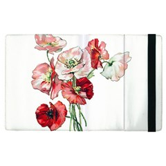Flowers Poppies Poppy Vintage Apple Ipad Pro 9 7   Flip Case by Celenk