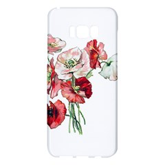 Flowers Poppies Poppy Vintage Samsung Galaxy S8 Plus Hardshell Case  by Celenk