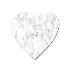 White Background Pattern Tile Heart Magnet by Celenk