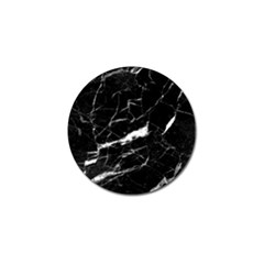 Black Texture Background Stone Golf Ball Marker (4 Pack)