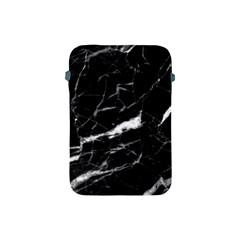 Black Texture Background Stone Apple Ipad Mini Protective Soft Cases by Celenk