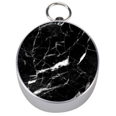 Black Texture Background Stone Silver Compasses by Celenk