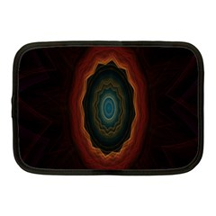 Cosmic Eye Kaleidoscope Art Pattern Netbook Case (medium)  by Celenk