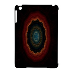 Cosmic Eye Kaleidoscope Art Pattern Apple Ipad Mini Hardshell Case (compatible With Smart Cover) by Celenk