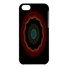 Cosmic Eye Kaleidoscope Art Pattern Apple Iphone 5c Hardshell Case by Celenk