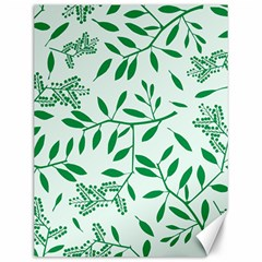 Leaves Foliage Green Wallpaper Canvas 12  X 16   by Celenk