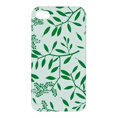 Leaves Foliage Green Wallpaper Apple Iphone 4/4s Hardshell Case by Celenk