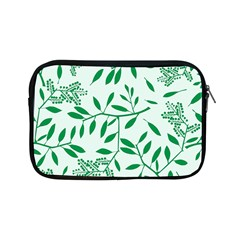 Leaves Foliage Green Wallpaper Apple Ipad Mini Zipper Cases by Celenk