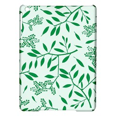 Leaves Foliage Green Wallpaper Ipad Air Hardshell Cases by Celenk
