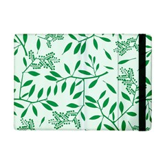 Leaves Foliage Green Wallpaper Ipad Mini 2 Flip Cases by Celenk