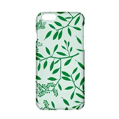 Leaves Foliage Green Wallpaper Apple Iphone 6/6s Hardshell Case by Celenk