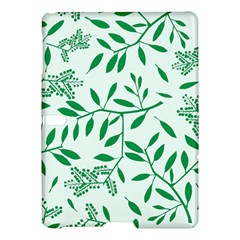Leaves Foliage Green Wallpaper Samsung Galaxy Tab S (10 5 ) Hardshell Case  by Celenk