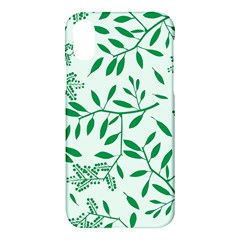 Leaves Foliage Green Wallpaper Apple Iphone X Hardshell Case by Celenk
