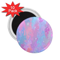 Space Psychedelic Colorful Color 2 25  Magnets (10 Pack)  by Celenk