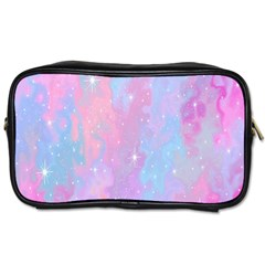 Space Psychedelic Colorful Color Toiletries Bags 2 Side