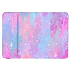 Space Psychedelic Colorful Color Samsung Galaxy Tab 8 9  P7300 Flip Case by Celenk