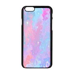 Space Psychedelic Colorful Color Apple Iphone 6/6s Black Enamel Case by Celenk