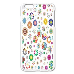Design Aspect Ratio Abstract Apple Iphone 6 Plus/6s Plus Enamel White Case by Celenk