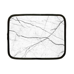 White Background Pattern Tile Netbook Case (small)