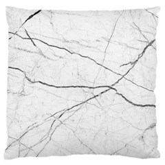 White Background Pattern Tile Large Flano Cushion Case (two Sides) by Celenk