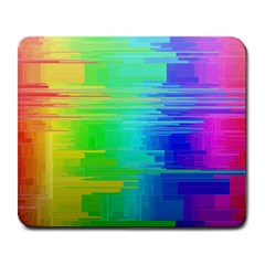 Colors Rainbow Chakras Style Large Mousepads by Celenk