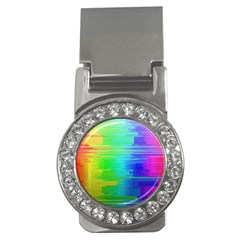 Colors Rainbow Chakras Style Money Clips (cz)  by Celenk