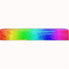 Colors Rainbow Chakras Style Small Bar Mats by Celenk