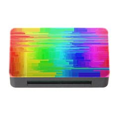 Colors Rainbow Chakras Style Memory Card Reader With Cf by Celenk
