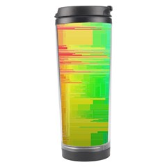 Colors Rainbow Chakras Style Travel Tumbler by Celenk