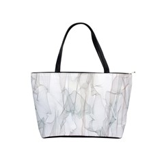 Background Modern Smoke Design Shoulder Handbags by Celenk