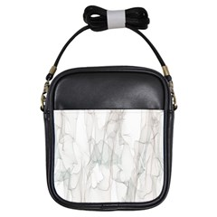 Background Modern Smoke Design Girls Sling Bags by Celenk