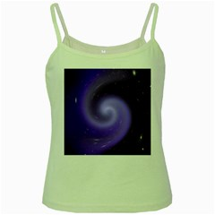 Spiral Lighting Color Nuances Green Spaghetti Tank