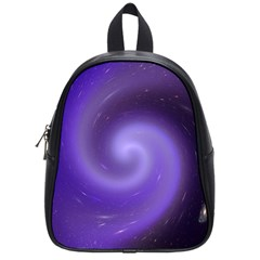Spiral Lighting Color Nuances School Bag (small) by Celenk