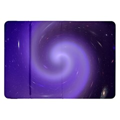 Spiral Lighting Color Nuances Samsung Galaxy Tab 8 9  P7300 Flip Case by Celenk
