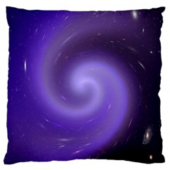 Spiral Lighting Color Nuances Large Flano Cushion Case (two Sides) by Celenk