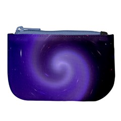Spiral Lighting Color Nuances Large Coin Purse by Celenk