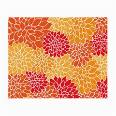 Abstract Art Background Colorful Small Glasses Cloth by Celenk