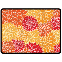 Abstract Art Background Colorful Double Sided Fleece Blanket (large)