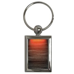 Background Red Orange Modern Key Chains (rectangle)