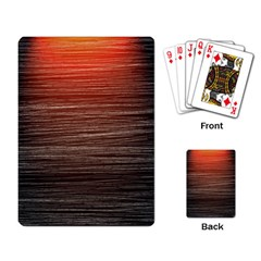 Background Red Orange Modern Playing Card by Celenk