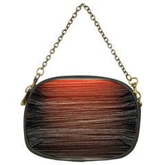 Background Red Orange Modern Chain Purses (one Side)  by Celenk