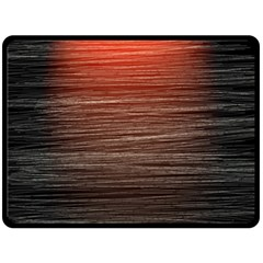 Background Red Orange Modern Fleece Blanket (large)