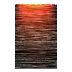 Background Red Orange Modern Shower Curtain 48  X 72  (small)  by Celenk
