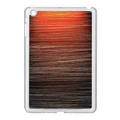 Background Red Orange Modern Apple Ipad Mini Case (white)