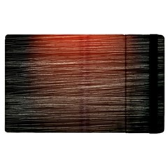 Background Red Orange Modern Apple Ipad Pro 9 7   Flip Case by Celenk