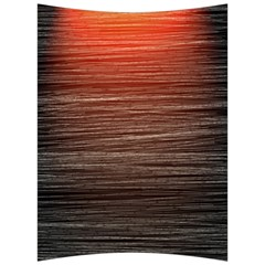 Background Red Orange Modern Back Support Cushion by Celenk