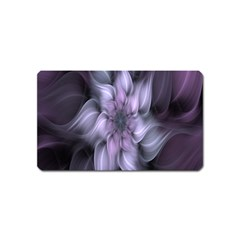 Fractal Flower Lavender Art Magnet (name Card) by Celenk