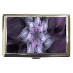 Fractal Flower Lavender Art Cigarette Money Cases by Celenk