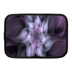 Fractal Flower Lavender Art Netbook Case (medium)  by Celenk