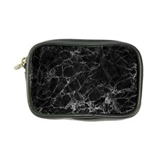 Black Texture Background Stone Coin Purse by Celenk